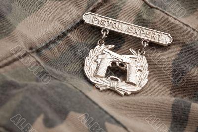 Pistol Expert War Medal