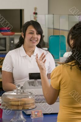 Latina Cashier