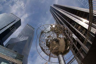 Globe at Columbus Circle