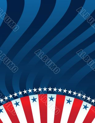 Abstract American Background
