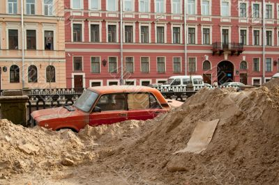 Reliable parking in Russian. Humour.