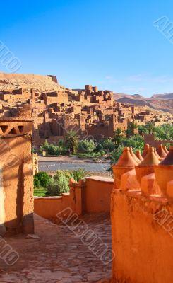 traditional Moroccan Kasbah