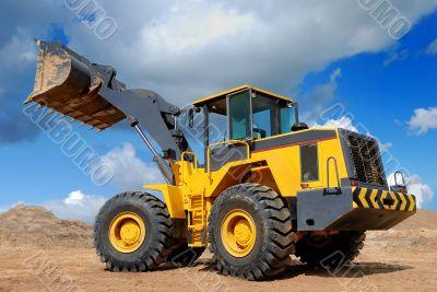 five-ton wheel loader buldozer