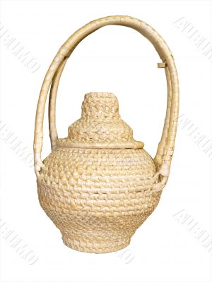 Woven Cane Container