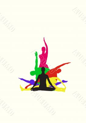 Yoga center identity
