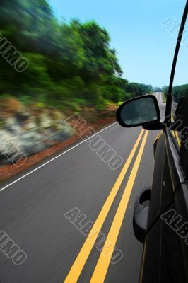 Man on the road