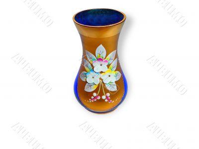 Festive wineglass