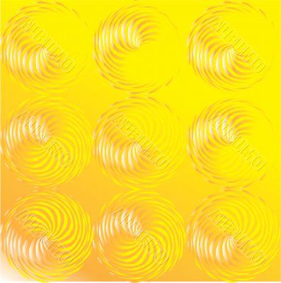 Illusion. Vector illustration