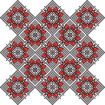 Traditional Belarus ornament