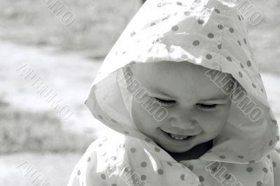 Pretty smiling child