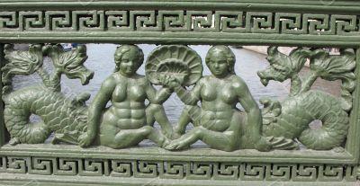 Cast-iron ornament
