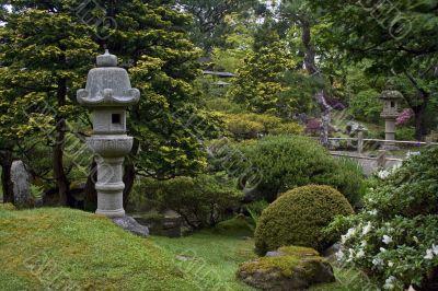 Nice japanese garden