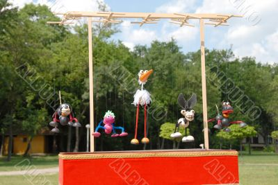 Puppets animals