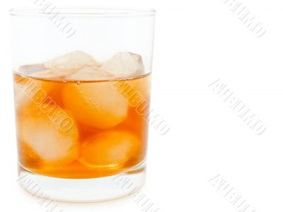glass of alcoholoic drink