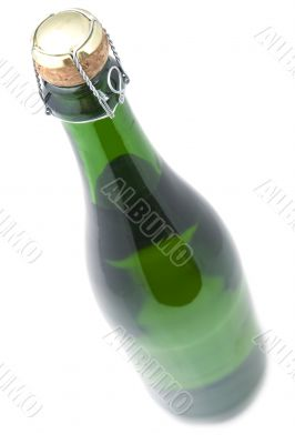 Bottle sparkling wine