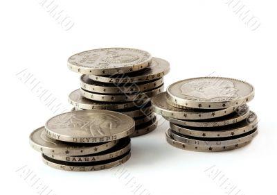 Rouleau coins.