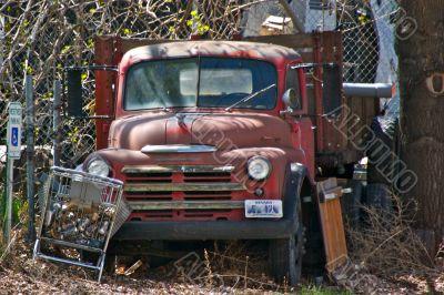 Leftover Farm Truck