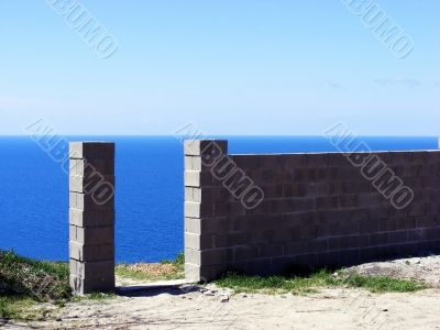 The gate to the sea
