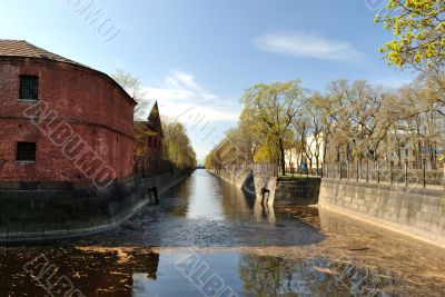 Kronstadt. By-pass canal