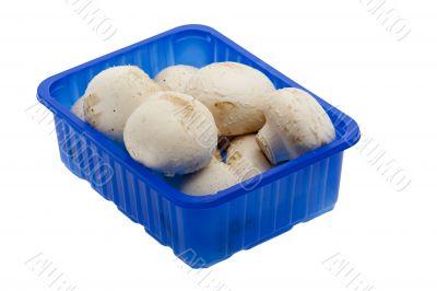Cup of mushrooms