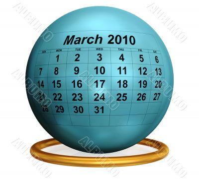 March 2010 Original Calendar.