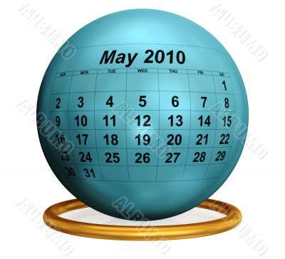 May 2010 Original Calendar.