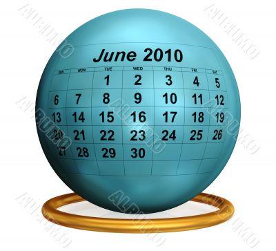 June 2010 Original Calendar.