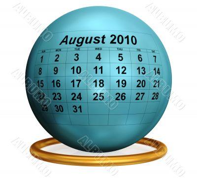 August 2010 Original Calendar.
