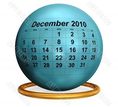 December 2010 Original Calendar.