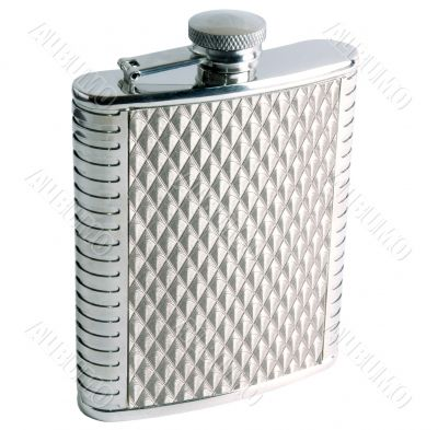 Alcohol Grooved Flask