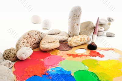 Palette and Gravel