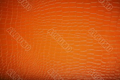 Texture of fashionable brown leather