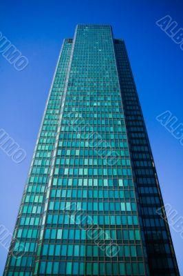 Modern european skyscraper