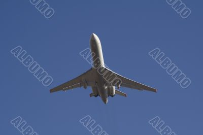 Flying passenger plane 4