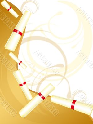 gold diploma