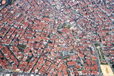 Istanbul from the heigh of bird flight
