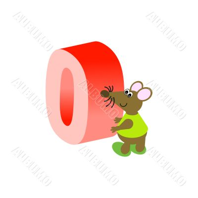 Mouse with Number
