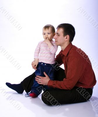 Father and daughte