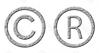 3D Stone Copyright and Registered Symbols