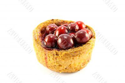 Pork Pie with Cranberries