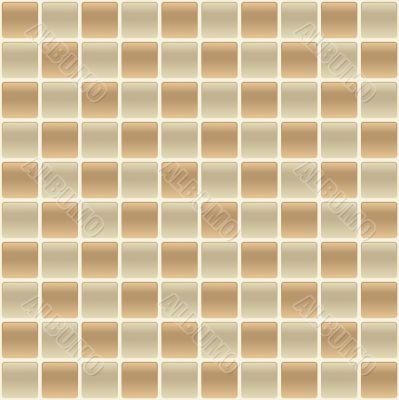 Checkered Tile Back Splash