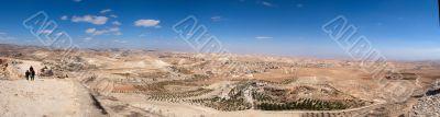 Israel Palestine panorama