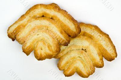 Crispy puffed pastry cookies