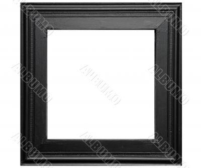 Rustic black photo frame