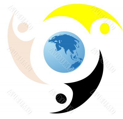 World business Logo