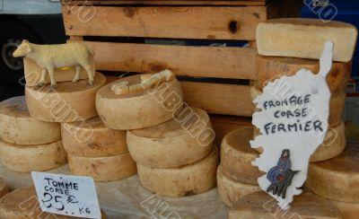 ewe`s cheeses