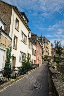 Old town of Luxembourg