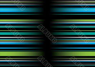 band green blue