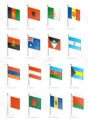 Flag icon set - part 1
