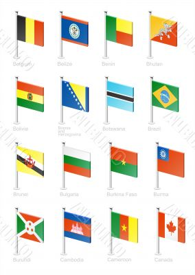 Flag icon set -part 2